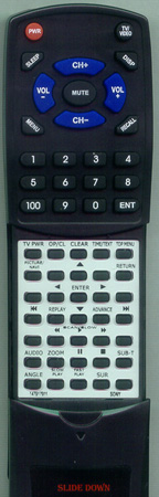 SONY 1-479-179-11 RMT-D175A Custom Built Redi Remote