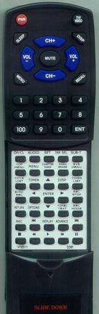 SONY 1-479-551-11 RMTD229A Custom Built Redi Remote