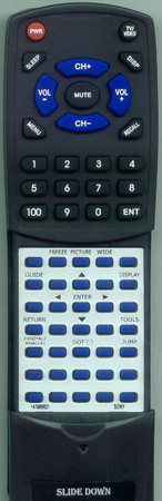 SONY 1-479-686-21 RMYD005 Custom Built Redi Remote