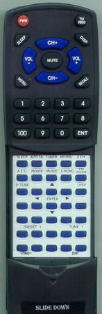 SONY 1-479-692-11 RMAAU006 Custom Built Redi Remote