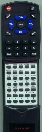 SONY 1-479-848-31 RMT-B101A Custom Built Redi Remote