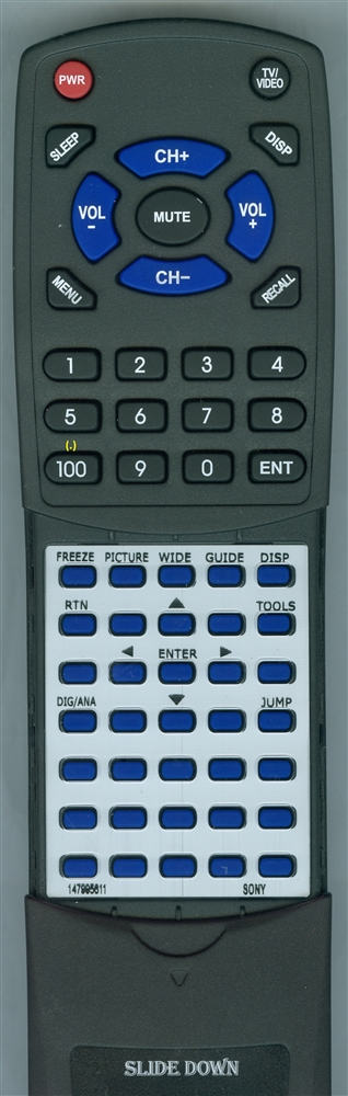 SONY 1-479-956-11 RMYD012 Custom Built Redi Remote