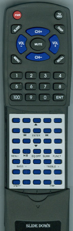 SONY 1-479-970-11 RMANU009 Custom Built Redi Remote