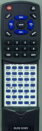 SONY 1-480-004-11 RM-ADU005 Custom Built Redi Remote