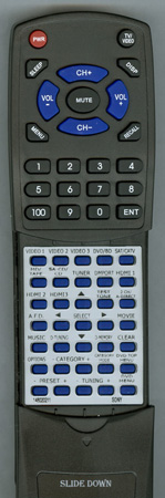 SONY 1-480-202-11 RMAAP018 Custom Built Redi Remote
