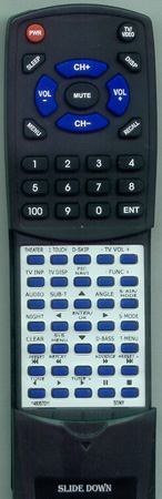 SONY 1-480-570-11 RM-ADU007 Custom Built Redi Remote