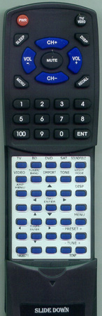 SONY 1-480-657-11 RM-AAU036 Custom Built Redi Remote