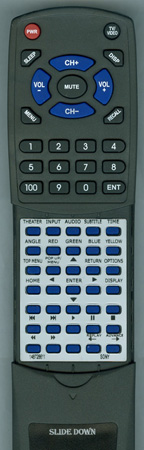 SONY 1-487-286-11 RMT-B105A Custom Built Redi Remote