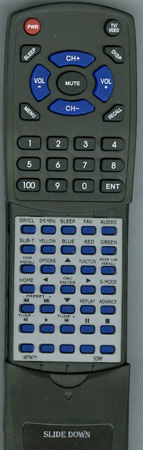 SONY 1-487-647-11 RM-ADP053 Custom Built Redi Remote