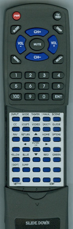 SONY 1-487-711-11 RM-YD037 Custom Built Redi Remote