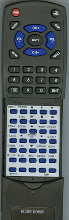 SONY 1-487-767-11 RM-YD033 Custom Built Redi Remote