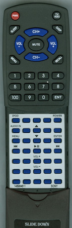 SONY 1-489-846-11 RMTCX500 Custom Built Redi Remote