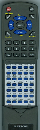 SONY 1-490-190-11 RM-AAP078 Custom Built Redi Remote