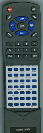 SONY 1-490-541-13 RMANU159 Custom Built Redi Remote