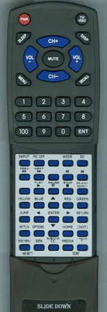 SONY 1-491-987-11 RM-YD087 Custom Built Redi Remote