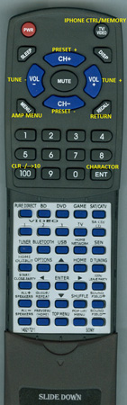 SONY 1-492-172-11 RMAAP102 Custom Built Redi Remote