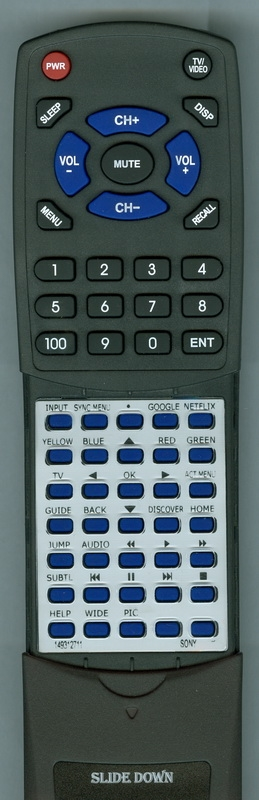 SONY 1-493-127-11 RMF-TX200U Custom Built Redi Remote