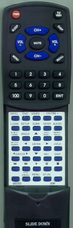 SONY 9-885-035-23 RMT-V501A Custom Built Redi Remote