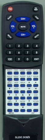 SONY 9-885-079-55 RMTV501E Custom Built Redi Remote