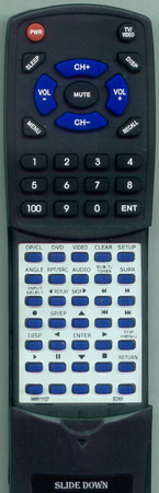 SONY 9-885-111-07 RMTV504A Custom Built Redi Remote