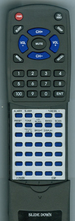 SONY A-1259-028-A RMTCS3A Custom Built Redi Remote