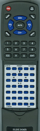 SONY A-1444-376-A RMTCCDK50A Custom Built Redi Remote