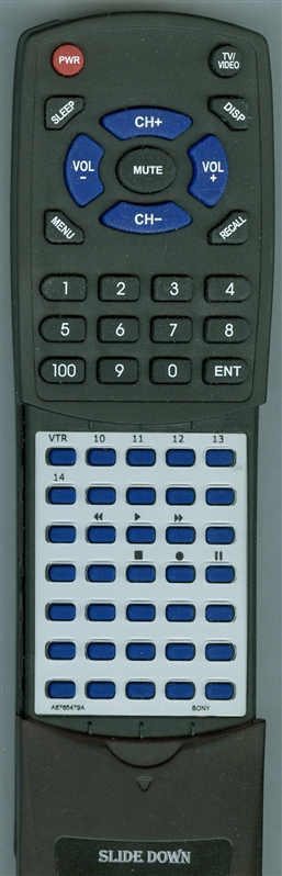 SONY A-6765-479-A RMT124 Custom Built Redi Remote