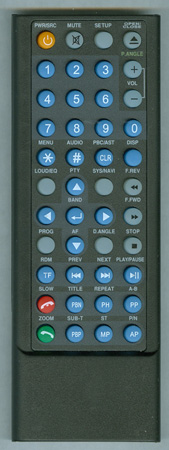 SOUNDSTREAM VIR7355NRBT Genuine OEM original Remote