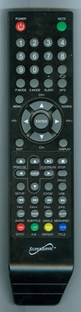 SUPERSONIC SC225 Genuine OEM original Remote