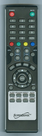 SUPERSONIC SC3211 Genuine OEM original Remote