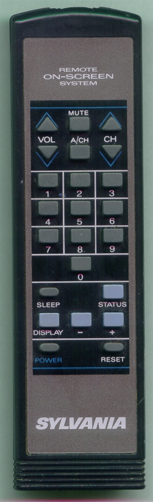 SYLVANIA 00T238AGSA01 00T238AGSA01 Refurbished Genuine OEM Remote