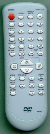 SYLVANIA NB080UD NB080 Genuine  OEM original Remote