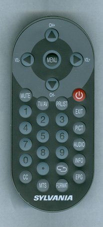 SYLVANIA SRT902A Genuine  OEM original Remote