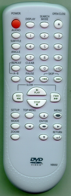 SYLVANIA NB002UD NB002 Genuine  OEM original Remote