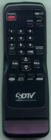 SYLVANIA NE609UE Genuine  OEM original Remote