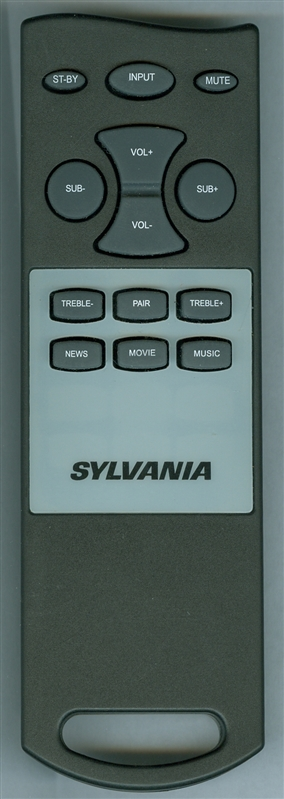 SYLVANIA SB374W Genuine  OEM original Remote