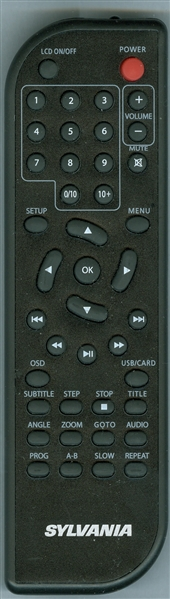 SYLVANIA SDVD1032 Genuine OEM original Remote