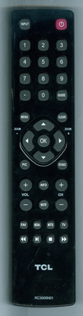 TCL RC3000N01 RC3000N01 Genuine  OEM original Remote