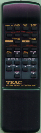 TEAC RC544 RC544 Genuine  OEM original Remote