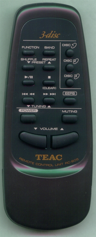 TEAC RC-905 Genuine  OEM original Remote
