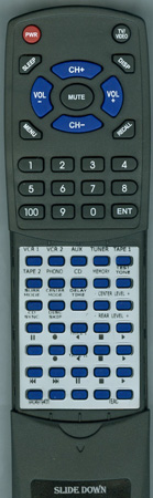 TEAC 9A04979400 UR405 Custom Built Redi Remote