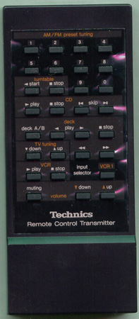 TECHNICS EUR64270 EUR64270 Genuine  OEM original Remote