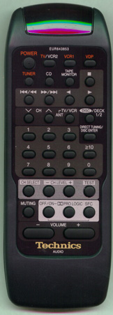 TECHNICS EUR643853 EUR643853 Genuine  OEM original Remote