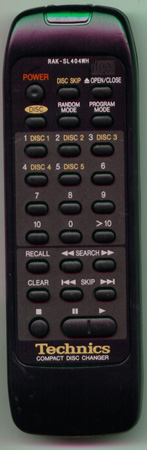 TECHNICS RAK-SL404WH RAKSL404WH Genuine  OEM original Remote