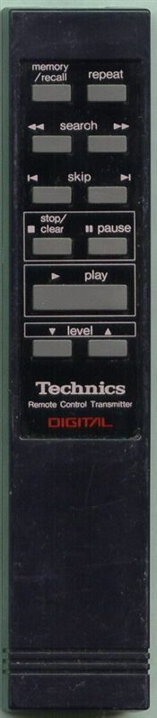 TECHNICS EUR64225 EUR64225 Genuine OEM original Remote