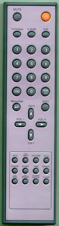 TECHVIEW ID-3OT10007 Genuine  OEM original Remote