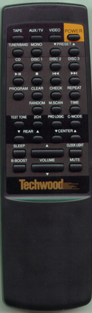 TECHWOOD 90W0045 PL68 Genuine  OEM original Remote