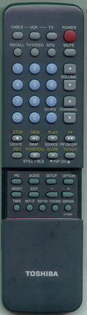 TOSHIBA 23120258 CT9667 Genuine  OEM original Remote