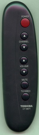 TOSHIBA 23120263 CT9671 Genuine  OEM original Remote
