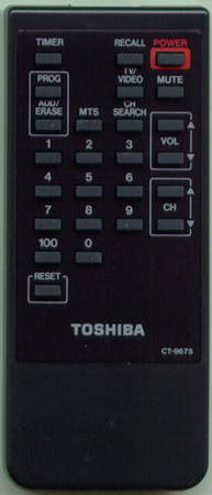 TOSHIBA 23120270 CT9675 Genuine  OEM original Remote